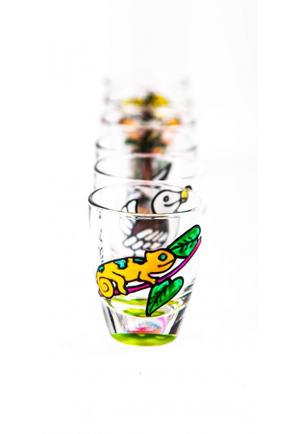verres à shooter rhum