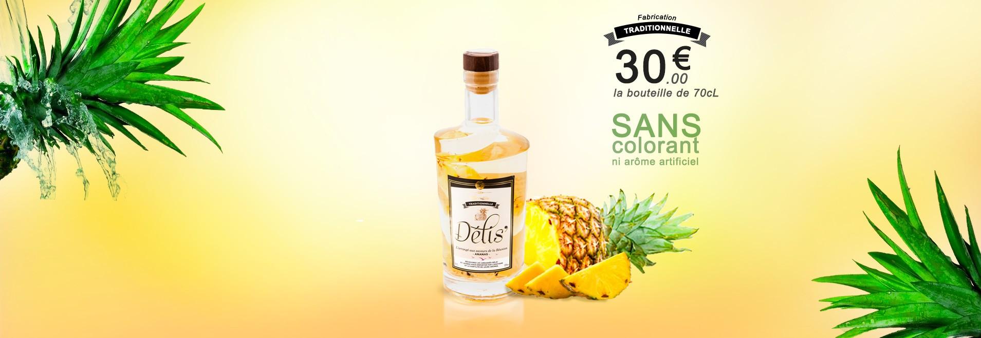 Ananas : le Rhum arrangé à l'ananas Victoria