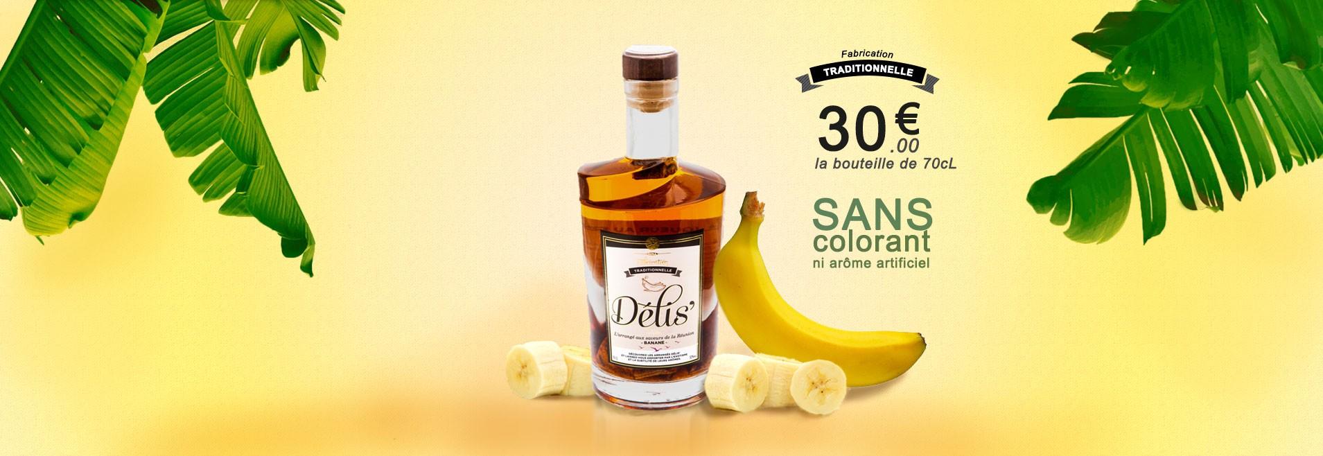 Banane : le Rhum arrangé à la banane